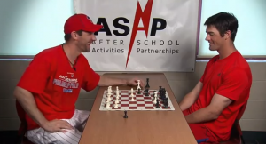 Cliff Lee beating up on Hamels in a game of Chess