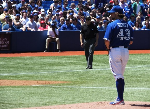 This is Likely RA Dickey's Last Year in Toronto