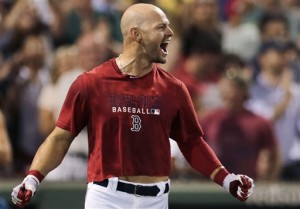 Cody Ross in a gritty almost belly shirt